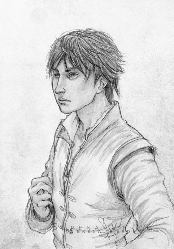 Portrait Commission: for Jacii by SerenaVerdeArt
