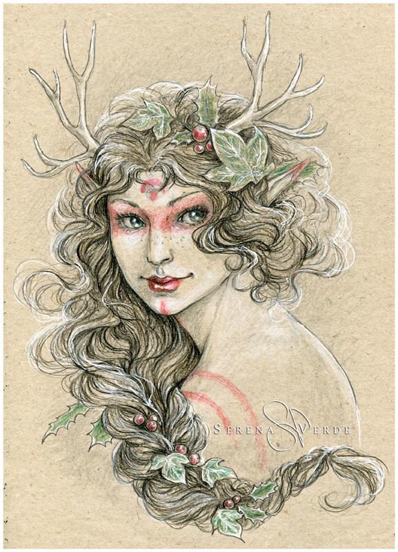 Winter Feelings by SerenaVerdeArt
