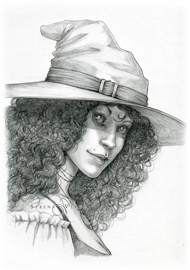 Portrait Commission: Bellamy by SerenaVerdeArt