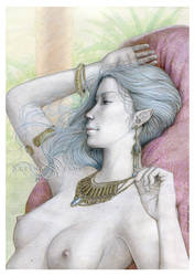 Commission: Neerepha by SerenaVerdeArt