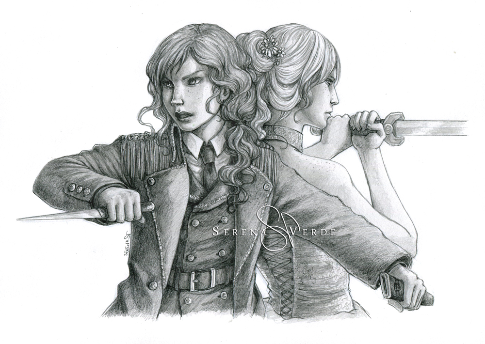 Commission: Aura and Imer by SerenaVerdeArt