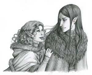 Commission: Aylsa and Elreth