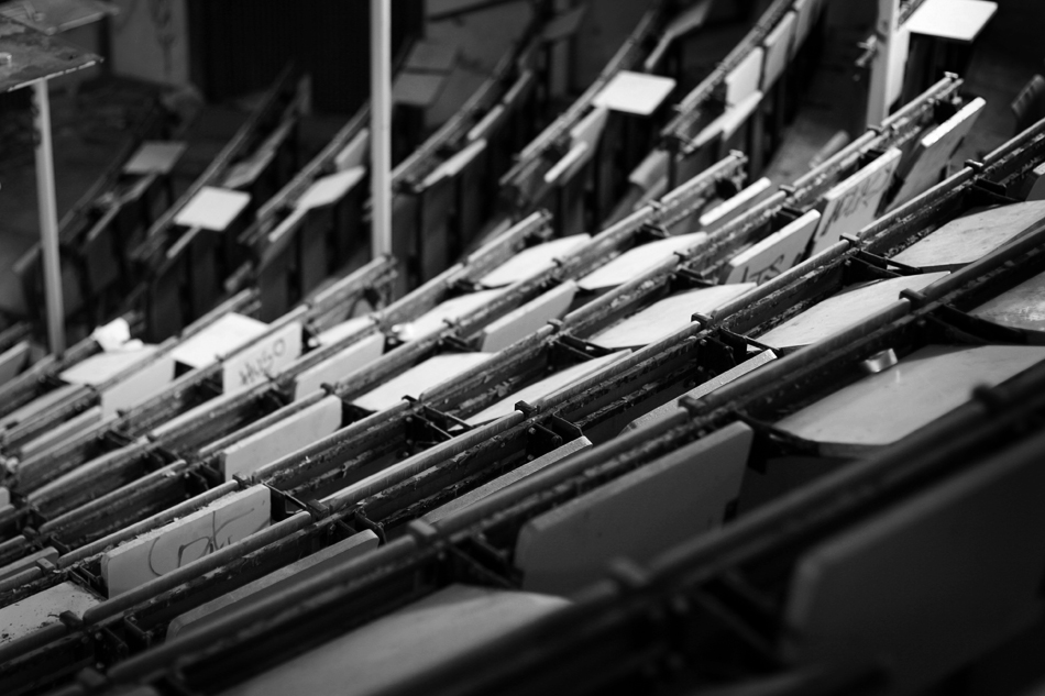 the lecture hall III by passingbird