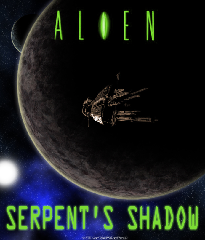 Alien: Serpent's Shadow cover by Leadfoot17