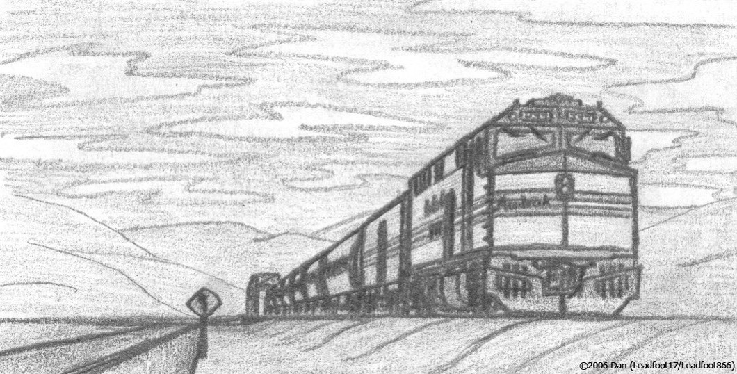 Amtrak local by leadfoot17 on deviantart for Amtrak coloring pages