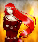 Yoriel - Fire god