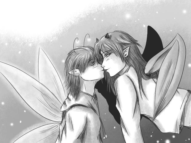 Random Kiss by Yami-Loveless