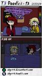 T3 Doodles - 13 by SKYR4T