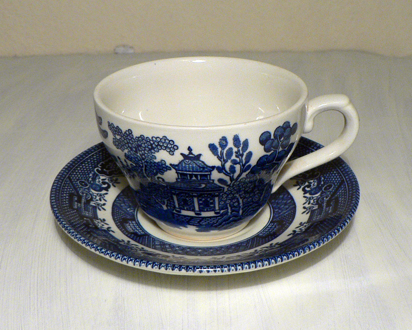 Cup and Saucer 18 by jaded-reflection