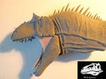 Saurophaganax, head and neck 1 : 15 scale