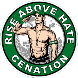 WWE John Cena Rise Above Hate Icon by rkb7