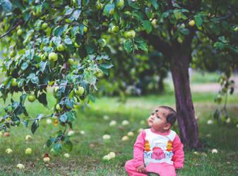 Cutie in Apple garden(Mithi)