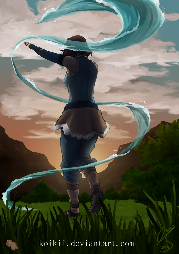 pre04.deviantart.net/cc2d/th/pre/i/2014/328/b/5/waterbending_in_the_sunset_by_koikii-d87jczh.png