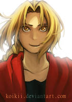 Edward Elric by Koikii