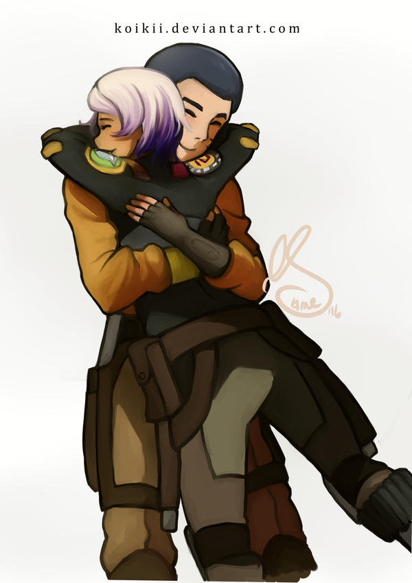 Ezra And Sabine By Koikii On Deviantart-2350