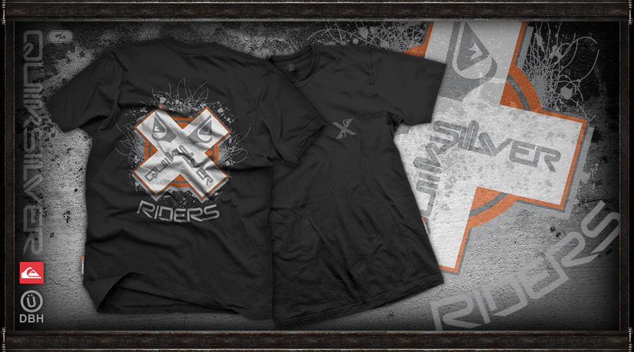 X Riders for QUIKSILVER by graphex