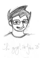 john egbert sketch by pinkcotton