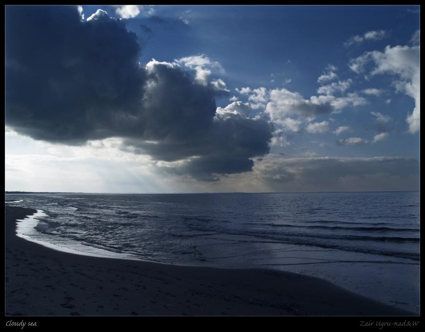 Cloudy sea II by Zair-Ugru-nad