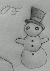 Derp Snowman (TopHat included)