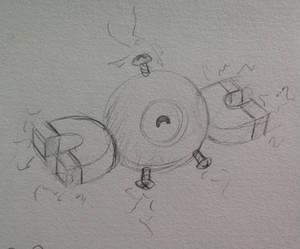 Magnemite Sketch