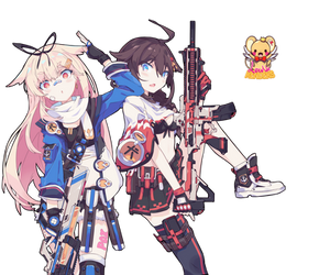 Render Duo Guns by RenderLand