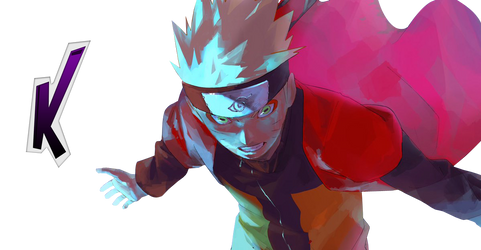 Render Naruto Ermite Modo