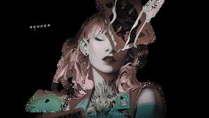 Render Card Queen