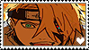 NS: Short Haired Deidara STAMP by whitenoize
