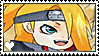 NS: Chibi Deidara STAMP by whitenoize