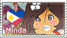 APH - Philippines Fan Stamp [MINDA] 01 by whitenoize