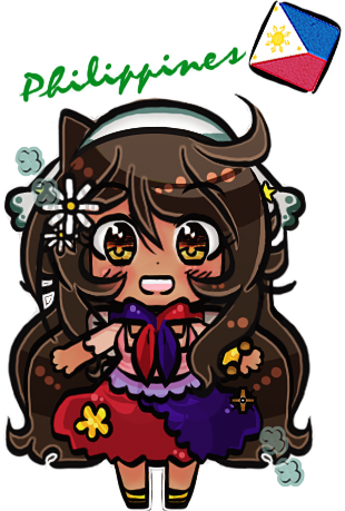APH - Beautiful World Philippines Chibi by whitenoize