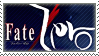 Fate/Zero Stamp by whitenoize