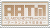 Tm - All Around Type Moon Stamp by whitenoize