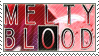 Melty Blood Stamp by whitenoize
