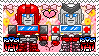 TF: MTMTE - Ironhide x Ratchet Stamp by whitenoize