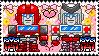 TF: MTMTE - Ironhide x Ratchet Stamp by whitenoize