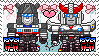 TF: MTMTE - Jazz x Prowl Stamp by whitenoize