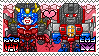 TF: MTMTE - Starscream x Windblade Stamp by whitenoize