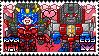 TF: MTMTE - Starscream x Windblade Stamp by whitenoize