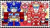 TF: MTMTE - Optimus x Elita Stamp by whitenoize