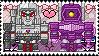 TF: MTMTE - Megatron x Shockwave Stamp by whitenoize