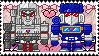 TF: MTMTE - Megatron x Soundwave Stamp by whitenoize