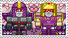 TF: MTMTE - Astrowing x Blitzwing Stamp by whitenoize
