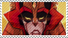 TF - Mistress of Flame Stamp by whitenoize