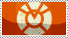 GL - Orange Lantern Corps Stamp by whitenoize