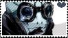 HB - Abe Sapien Stamp by whitenoize