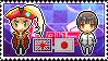 APH - Reuel!England x Hikaru!Japan Stamp