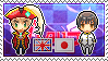 APH - Reuel!England x Hikaru!Japan Stamp by whitenoize