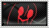 UF - Napstablook Stamp by whitenoize