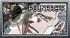 JJBA: Jean-Pierre Polnareff Stamp by whitenoize